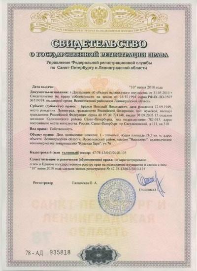 регистрация прав на недвижимое имущество санкт петербург обратил свои